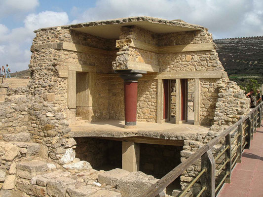 Crète - Palais de Knossos