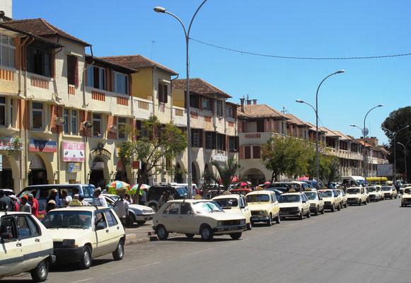 centre ville d'Antananarivo