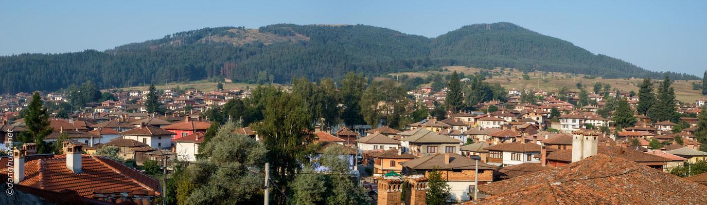 Koprivchtitza  -  1050 mètres d'altitude