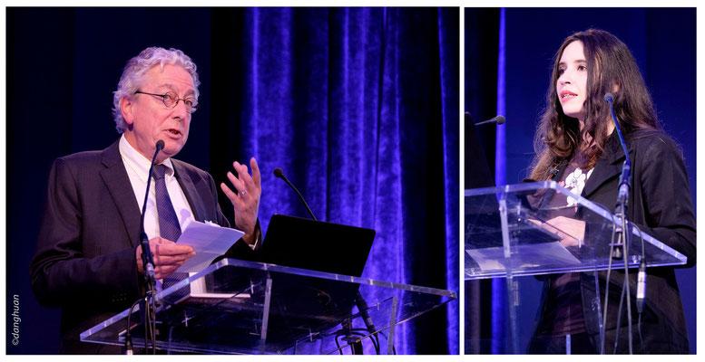 Jean Philippe Masserann , Natacha Quester Semeon (CEO Agence Digitale youARhere)