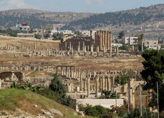 site romain Jerash