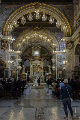 Mariage à Santa Maria in Aracoeli