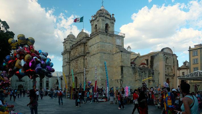 Cathédrale d'Oaxaca