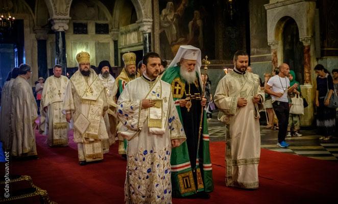 Sofia-cathédrale St-Alexandre-Nevski - le patriarche de l'église orthodoxe de la Bulgarie