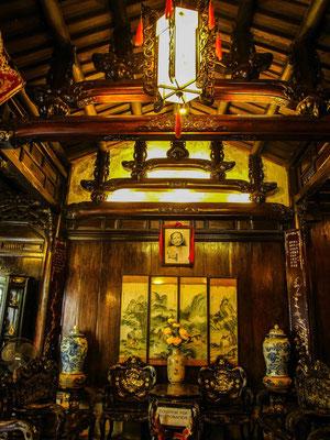 L'intérieur d'une maison traditionnelle - Hoi An