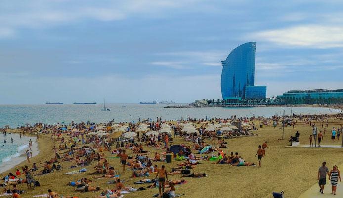 Plage de Barcelone
