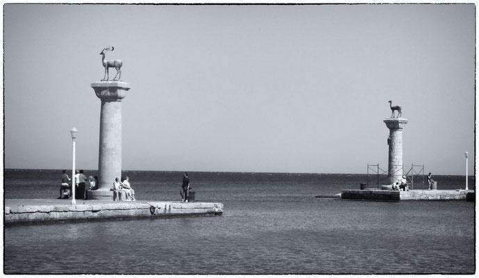 Rhodes - le port
