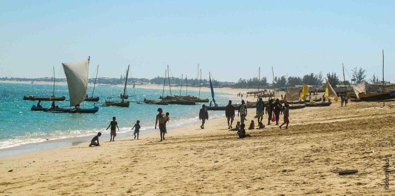 village de pêcheurs Vezo près d'Anakao, situé à 1H de bateau de Tuléar