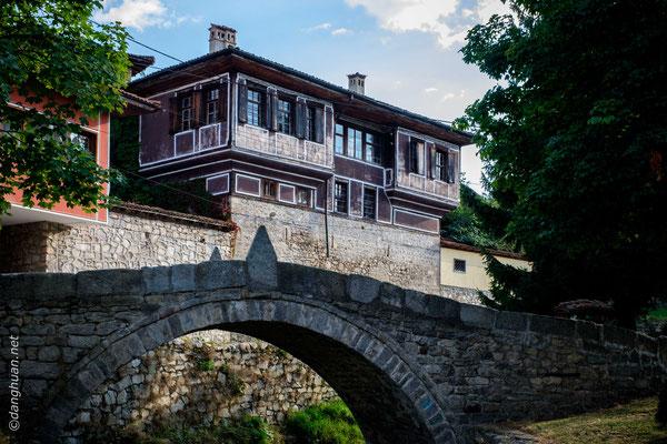 Koprivchtitza - le pont rendu célèbre par le premier coup de feu de l'insurrection bulgare d'avril 1876 (mouvement de résistance contre la domination ottomane).