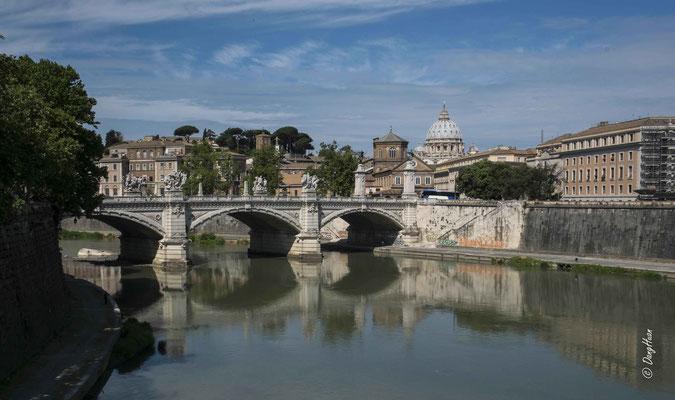 Vue depuis Castel Sant Angelo