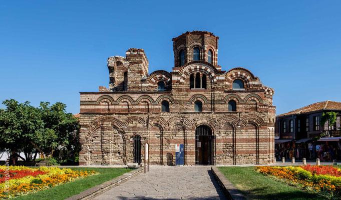 Nessebar - Eglise du Christ Panthocrator de style typique byzantin