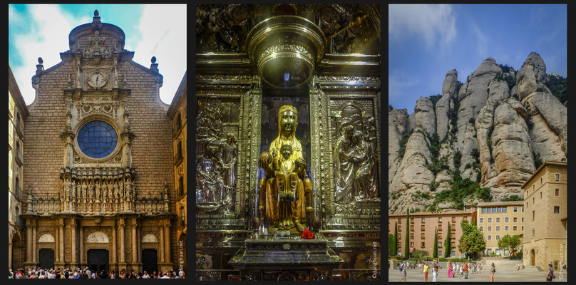 Le Montserrat  : la vierge noire