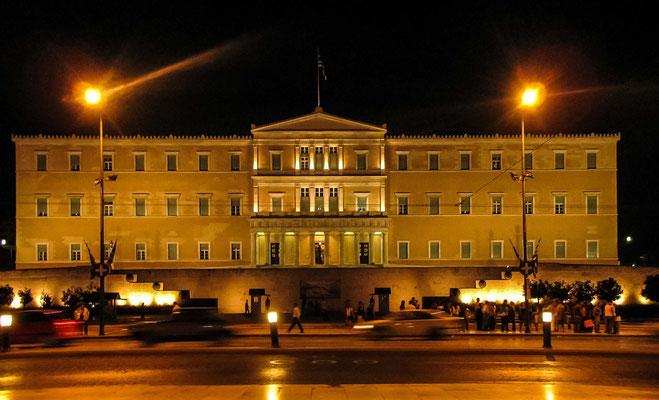 Athènes - Le parlement Grec