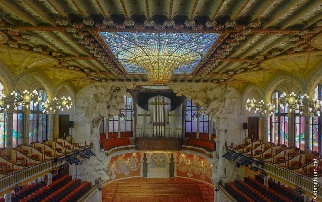 Le Palais Musical Catalan à Barcelone
