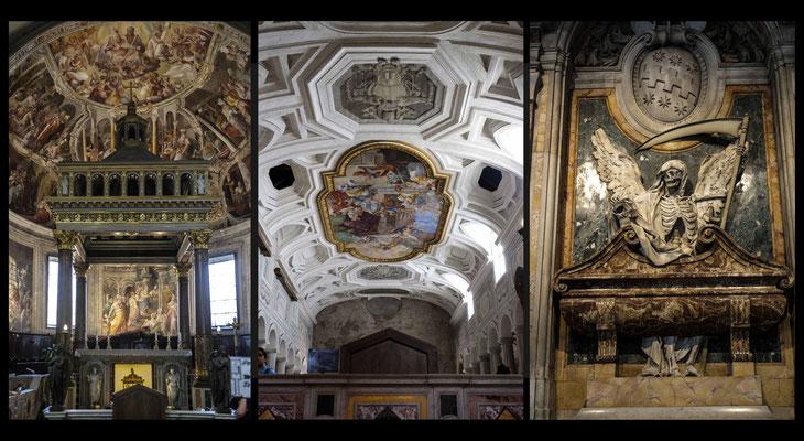 San Pietro in Vincoli - l'église Saint Pierre aux Liens a été construite dans les années 430 sur demande de l'Impératrice Eudoxie pour abriter les chaînes de Saint Pierre (emprisonné à Jérusalem et à Rome)