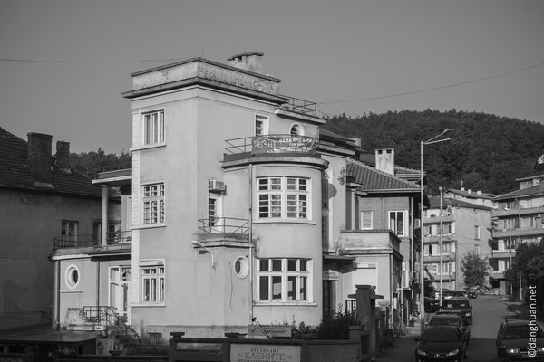 Maison à Gabrovo (Bulgarie) de style Baushaus
