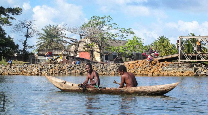 Pêcheurs - Canal Pangalanes