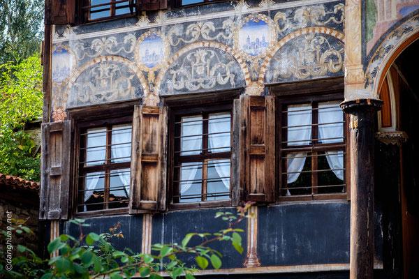Koprivchtitza - La maison Oslekova illustre ce  style architectural typiquement bulgare du XIXe siècle