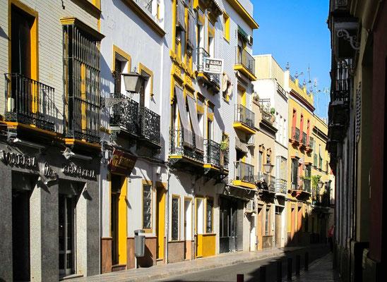 les rues de Séville