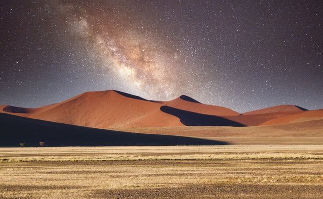 Songe d'un jour d'été (Désert Sossusvei en Namibie)