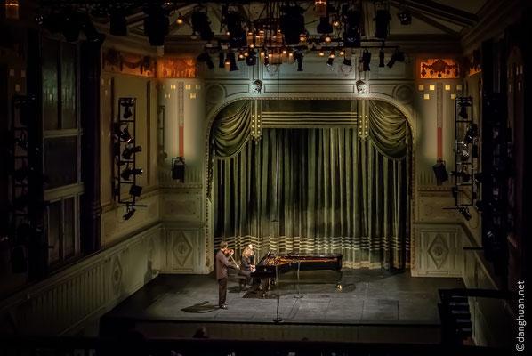 Salle au 1er étage : Récital de fin cursus (Mozart/Bach/Concerto N°1 en A mineur de Dmitri Shostakovich), violoniste : Juan Sebastian Ortega