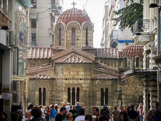 Athènes - église Kapnikaréa