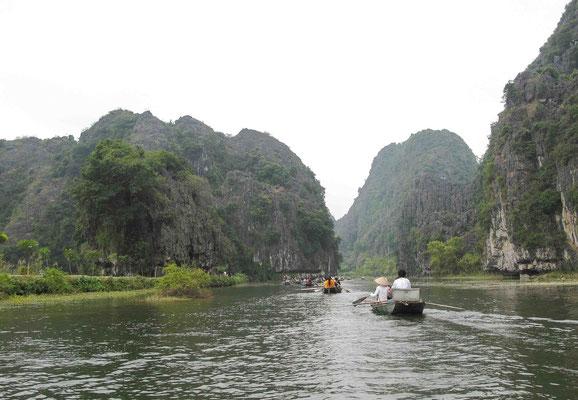 Tam Coc -Baie d'Halong terrestre