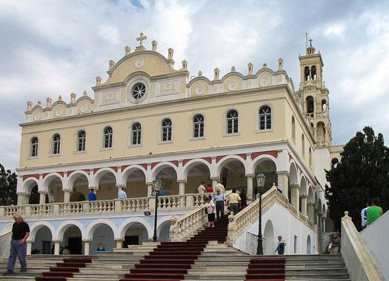 Les cyclades  - Tinos - Panagia Evangelistria