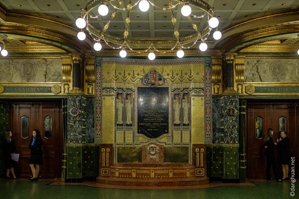 Liszt Academy of Music : Hall d'entrée