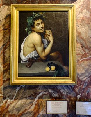 Musée Borghese - Caravaggio - Autoportrait