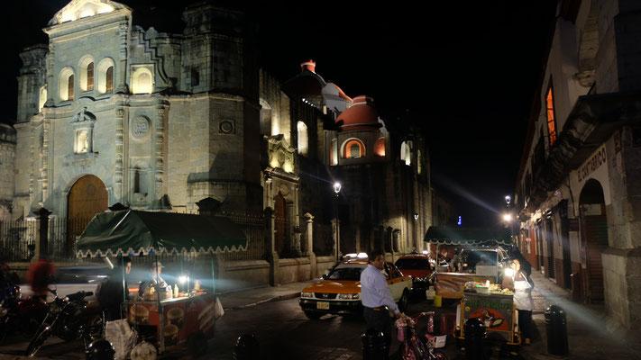 Oxaca by night