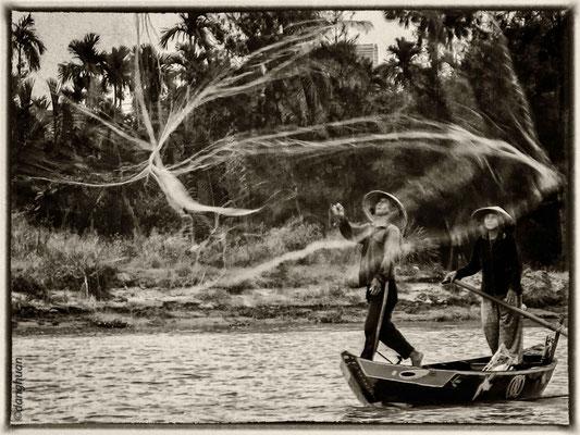 Pêcheur à Hoi An