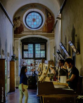 Atelier de cuir à St Croce