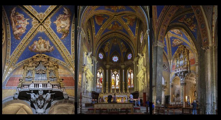 Santa Maria sopra Minerva - Cette église fait figure d'exception, elle est la seule de style gothique à Rome