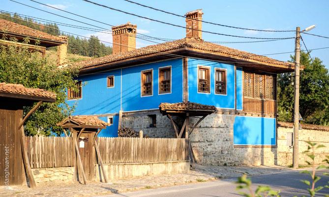 Koprivchtitza conserve un style architectural typiquement bulgare du XIXe siècle
