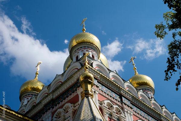 Eglise de Shipka - C'est ici qu'en 1877 fut rendue la bataille la plus difficile par la toute jeune résistance bulgare dans la guerre russo-turque pour la libération de la Bulgarie