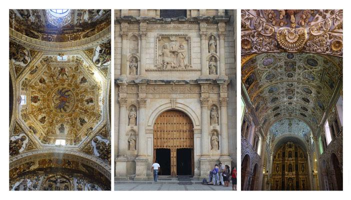 L'intérieur de l'église Santo Domingo