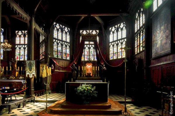 Les vitraux de St-Catherine