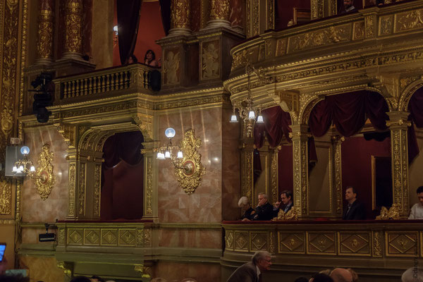 Opéra : les loges