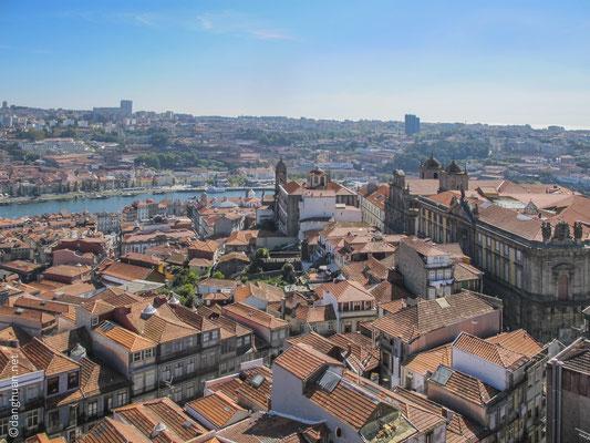 Panorama de la ville depuis el Torre dos Clerigos