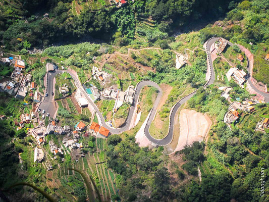 Vue du haut du Belvédère d'Eira do Serrado
