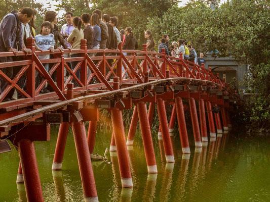 Autour du lac Hoan Kiem