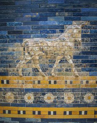 Musée Perganom - Tarreau sur la porte d'Ishtar