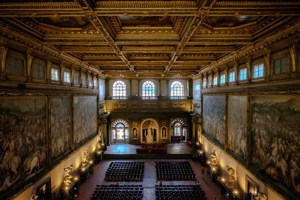 Palazzo Vecchio -Salle des 500