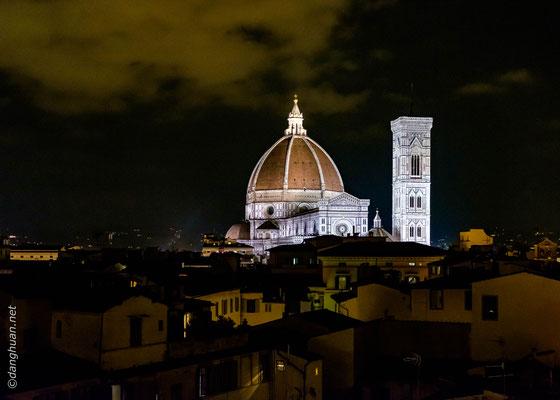 Le dôme de la Santa Maria del Fiore et le Campanile