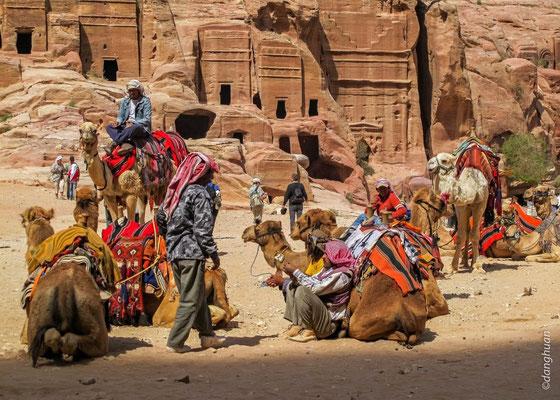 Bédouins à Pétra