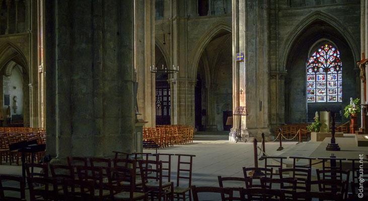 La cathédrale Saint-Etienne de Bourges est classée au Patrimoine Mondial de l'UNESCO depuis 1992