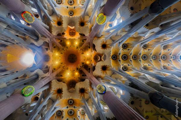 Sagra Familia  (Barcelone) - Antoni Gaudí