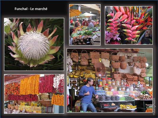 Funchal - marché
