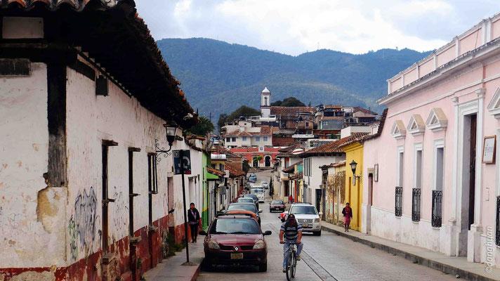 les rues de San Cristobal de las casas